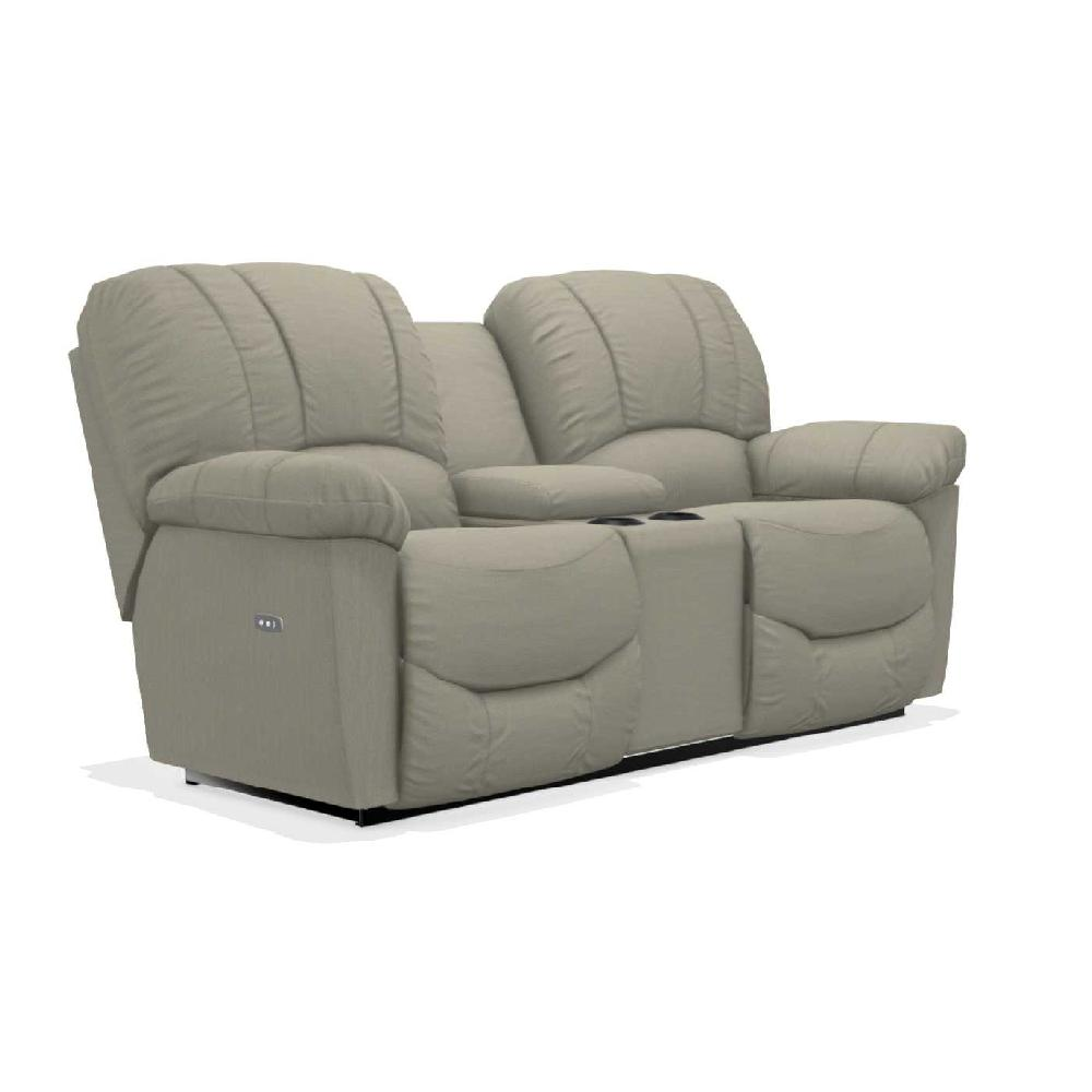 Hayes Power Reclining Loveseat W Console La Z Boy